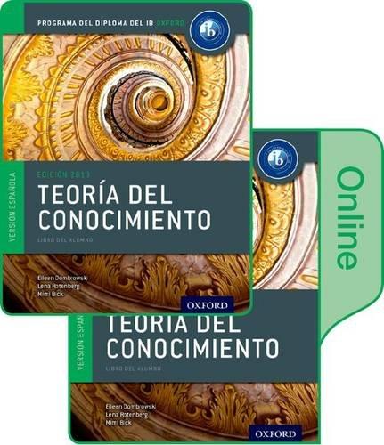 9780198364115: IB Teor�a del Conocimiento Libro del Alumno conjunto libro impreso y digital en l�nea: Programa del Diploma del IB Oxford