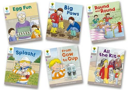 9780198364221: Oxford Reading Tree Biff, Chip and Kipper Stories Decode and Develop: Level 1: Level 1 More B Decode & Develop Pack of 6 (Wordless Story Book)