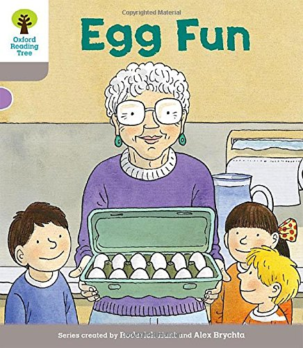 9780198364245: Oxford Reading Tree Biff, Chip and Kipper Stories Decode and Develop: Level 1: Egg Fun
