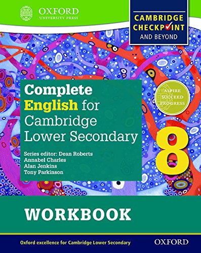 9780198364696: Complete English for Cambridge Secondary 1. Workbook 8