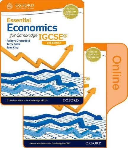 9780198364757: Essential Economics for Cambridge IGCSE®: Print and Online Student Book Pack