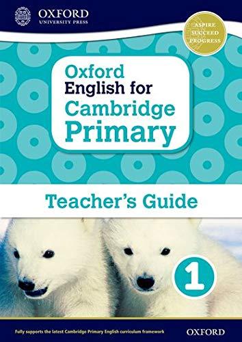 9780198366362: Oxford English for Cambridge Primary Teacher book 1