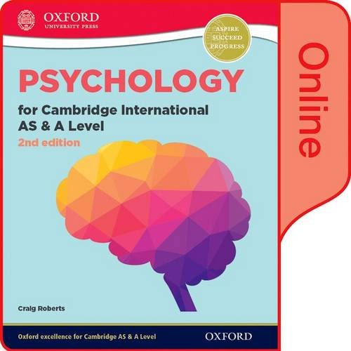 9780198366775: Psychology for Cambridge International AS and A Level 2nd Edition: Online Student Book (CIE A Level)
