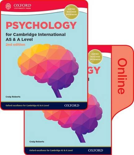 9780198366782: Psychology for Cambridge International AS and A Level (9990 syllabus): Print and Online Student Book Pack