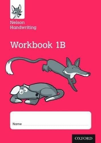 9780198368687: Nelson Handwriting: Year 1/Primary 2: Workbook 1B (pack of 10)