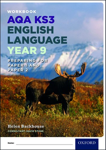 9780198368854: AQA KS3 English Language: Key Stage 3: Year 9 test workbook