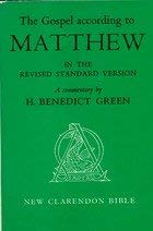 9780198369110: The Gospel According to Matthew in the Revised Standard Version: A Commentary
