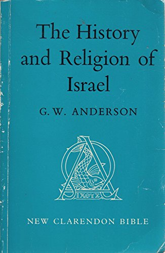 9780198369158: The History and Religion of Israel (Old Testament)