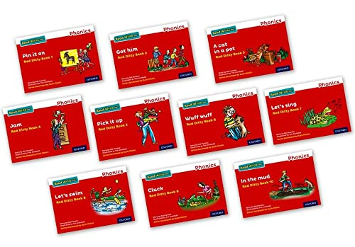 9780198371175: Read Write Inc. Phonics: Red Ditty Books Mixed Pack of 10