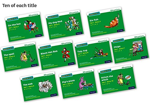 9780198371304: Read Write Inc. Phonics: Green Set 1 Storybooks Pack of 100