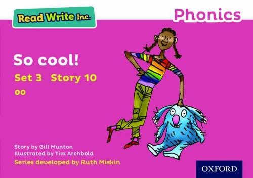 9780198371786: Read Write Inc. Phonics: Pink Set 3 Storybook 10 So Cool!