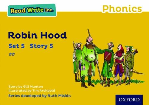 9780198372066: Read Write Inc. Phonics: Yellow Set 5 Storybook 5 Robin Hood