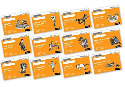 9780198372875: Read Write Inc. Phonics: Black and White Orange Set 4 Storybooks Mixed Pack of 12