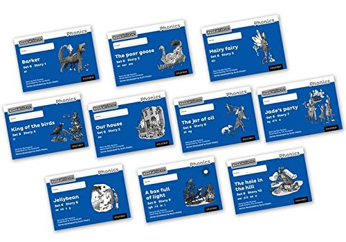 9780198373131: Read Write Inc. Phonics: Black and White Blue Set 6 Storybooks Mixed Pack of 10