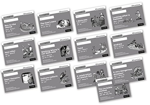 9780198373254: Read Write Inc. Phonics: Black and White Grey Set 7 Storybooks Mixed Pack of 13