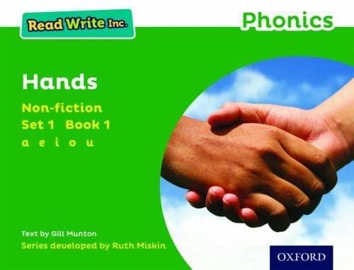 9780198373421: Read Write Inc. Phonics: Green Set 1 Non-fiction 1 Hands
