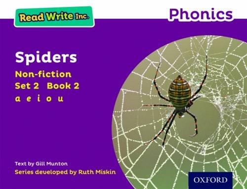 9780198373506: Read Write Inc. Phonics: Purple Set 2 Non-fiction 2 Spiders