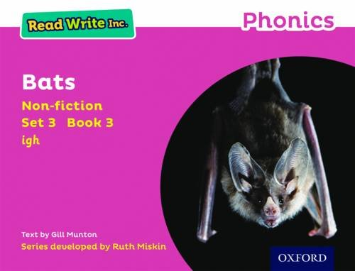 9780198373582: Read Write Inc. Phonics: Pink Set 3 Non-fiction 3 Bats