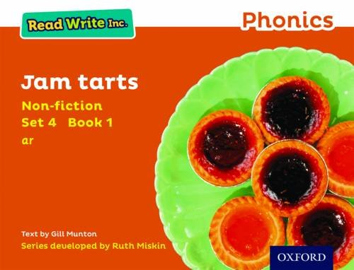 9780198373636: Read Write Inc. Phonics: Orange Set 4 Non-fiction 1 Jam Tarts