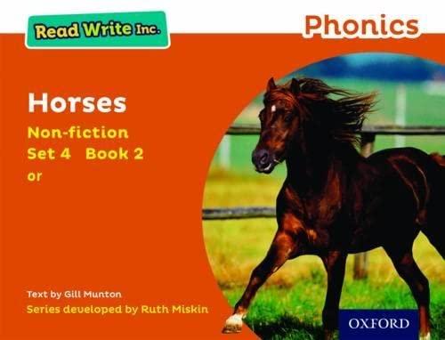 9780198373643: Read Write Inc. Phonics: Orange Set 4 Non-fiction 2 Horses