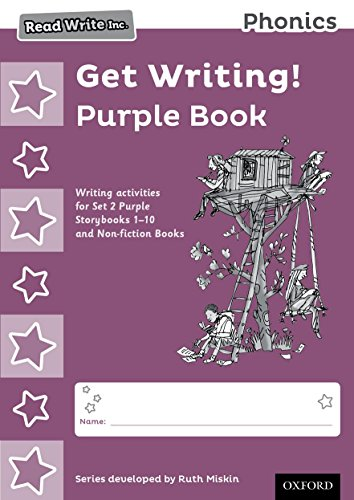 9780198374060: Read Write Inc. Phonics: Get Writing! Purple Book Pack of 10