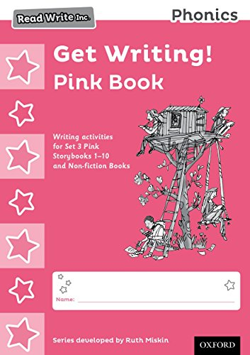 9780198374084: Read Write Inc. Phonics: Get Writing! Pink Book Pack of 10