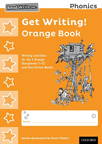9780198374107: Read Write Inc. Phonics: Get Writing! Orange Book Pack of 10