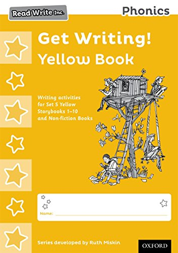 9780198374121: Read Write Inc. Phonics: Get Writing! Yellow Book Pack of 10