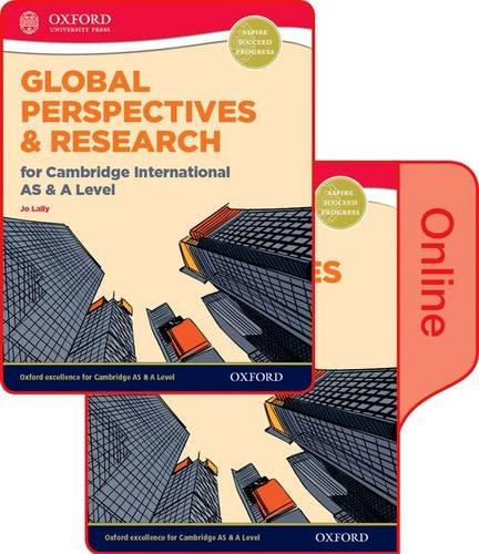 9780198376767: Global Perspectives and Research for Cambridge International AS & A Level Print & Online Book (Cie a Level)