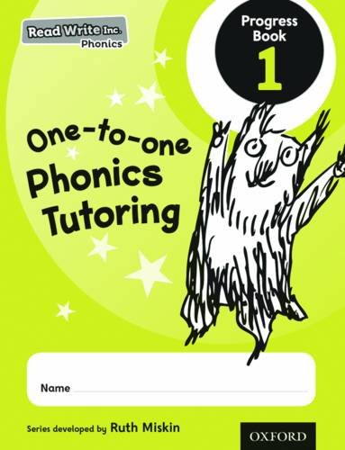 9780198378051: Read Write Inc. Phonics: One-to-one Phonics Tutoring Progress Book 1 Pack of 5