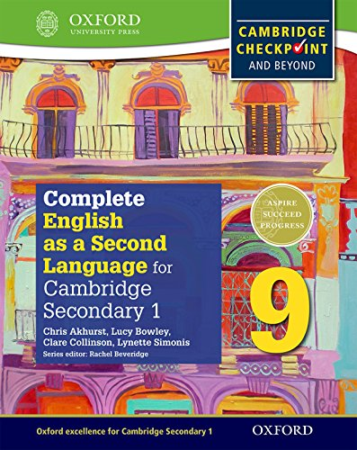 9780198378143: Complete English as a Second Language for Cambridge Lower Secondary Student Book 9 & CD