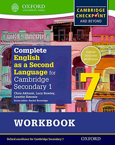 9780198378150: Complete English as a Second Language for Cambridge Secondary 1 Workbook 7 & CD