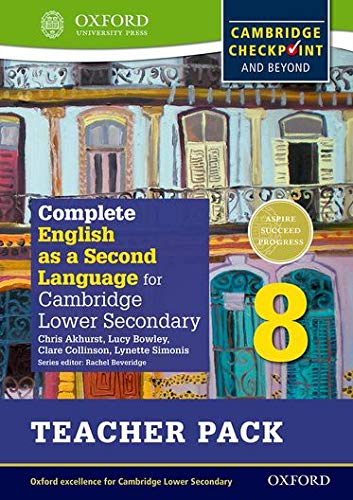 9780198378198: Complete English as a Second Language for Cambridge Lower Secondary Teacher Pack 8 & CD (Cie Checkpoint)