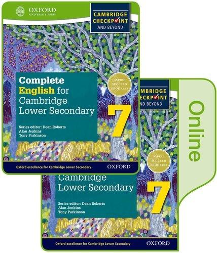 9780198378334: Complete English for Cambridge lower secondary. Student book. Per la Scuola media. Con e-book. Con espansione online: 7