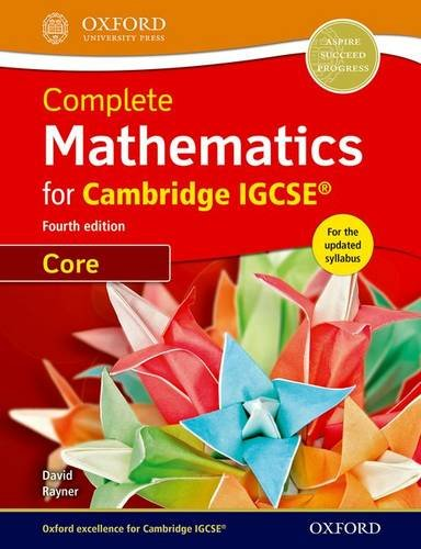 9780198378372: Complete Mathematics for Cambridge IGCSE (R) Student Book (Core)
