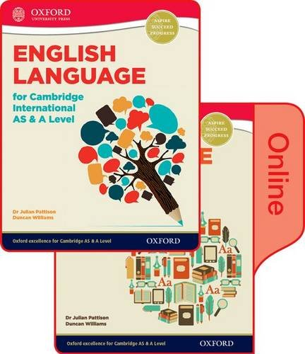 9780198379331: English Language for Cambridge International AS and A Level Student Book & Token Online Book
