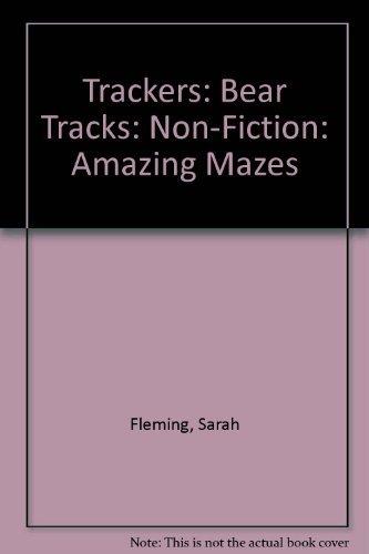 9780198384854: Trackers: Bear Tracks: Non-Fiction: Amazing Mazes