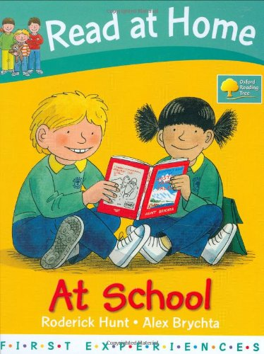 9780198386407: At School (Read at Home: First Experiences)