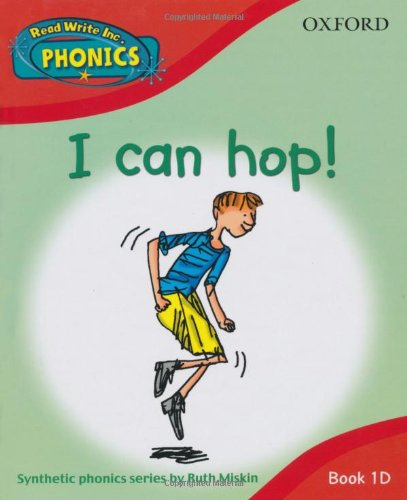 9780198386766: Read Write Inc. Home Phonics: I can hop!: Book 1d (Read Write Inc Phonics 1d)