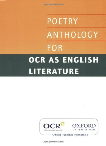 AS Poetry Anthology for OCR 2008-2012 (Ocr: Various