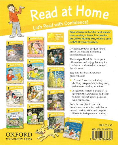 9780198387817: Oxford Reading Tree - Read at Home: Let's Read with Confidence! - 13 book set - RRP £51.87 (Read at Home)