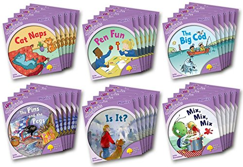 9780198388005: Oxford Reading Tree: Level 1+: More Songbirds Phonics: Class Pack (36 books, 6 of each title)