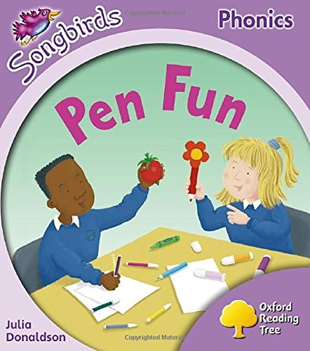 9780198388050: Oxford Reading Tree: Level 1+: More Songbirds Phonics: Pen Fun