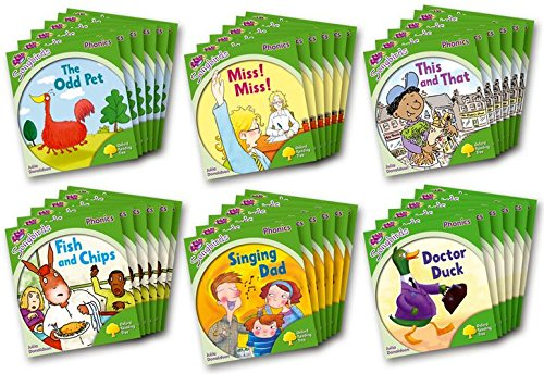 9780198388098: Oxford Reading Tree Songbirds Phonics: Level 2: Class Pack of 36