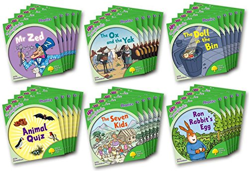 9780198388180: Oxford Reading Tree: Level 2: More Songbirds Phonics: Class Pack (36 books, 6 of each title)