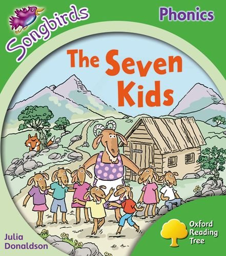 9780198388234: Oxford Reading Tree: Level 2: More Songbirds Phonics: The Seven Kids