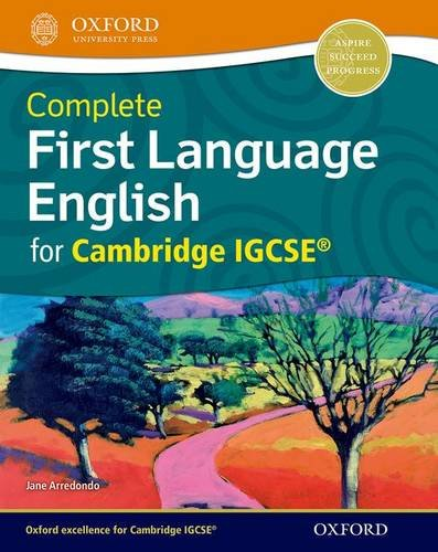 9780198389057: Complete First Language English for Cambridge IGCSE� (Igcse First Language)