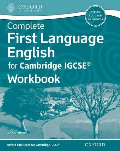 9780198389064: Complete First Language English for Cambridge IGCSERG Workbook