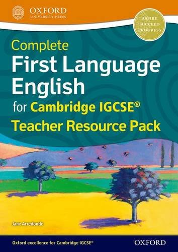 9780198389071: Complete First Language English for Cambridge IGCSERG Teacher Resource Pack