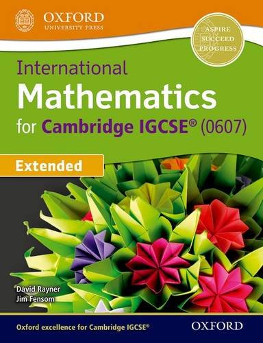 9780198389187: International Mathematics For Cambridge Igcse